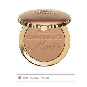 🆕Too Faced Chocolate Soleil Bronzer Milk Chocolat